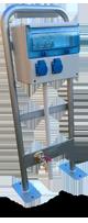Borne de distribution 2 prises et un robinet ARC2P1R