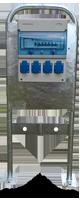 Borne de distribution 4 prises et 2 robinets ARC4P2R