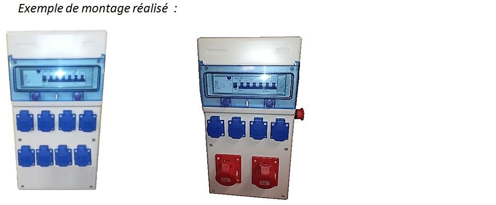 Exemple de montage de tableau électrique